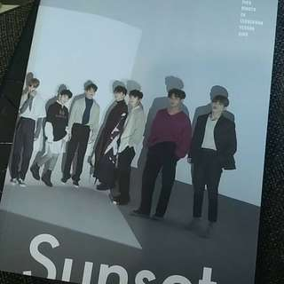 SEVENTEEN DIRECTOR'S CUT SUNSET PHOTOBOOK