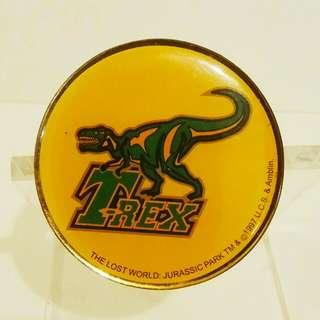 绝版1997年, 電影版Jurassic Park (朱羅記公園)襟章