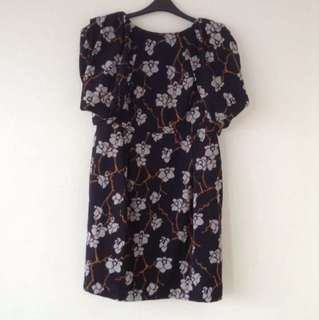 Marks And Spencer (M&S Limited Collection) Plus Size Floral Dress