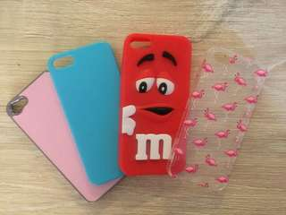 Assortment of iPhone 5/5S Cases