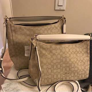 Coach convertible hobo