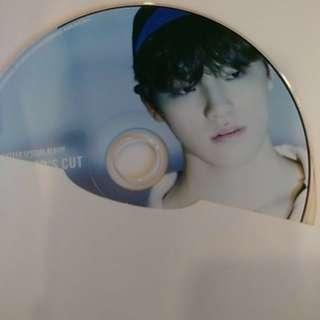 SEVENTEEN DIRECTOR'S CUT CD PLATE - DINO