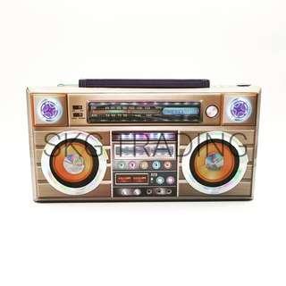 Paper Craft Radio Set / 纸扎收音机