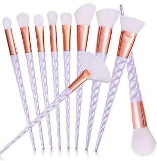 PO Unicorn Brush Set