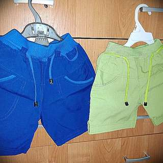 #MauMothercare pants blue and green