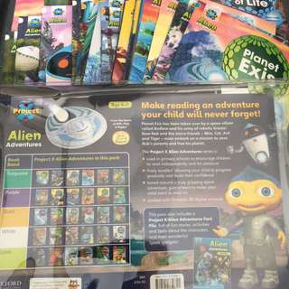 (包順豐站) 二手Oxford Project X Alien adventures 31 books