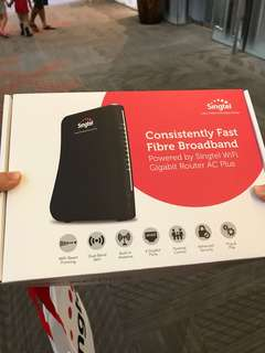 WiFi Gigabit Router AC Plus Singtel