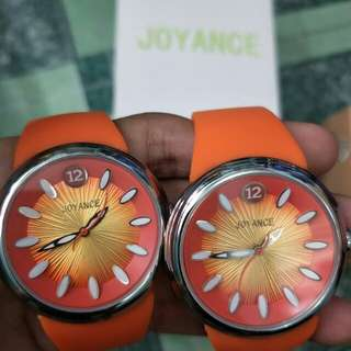 Buy 1 take 1 Orange Color Joyance Watch