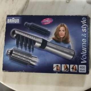 Braun Hair Styling