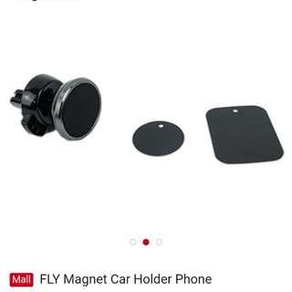 Magnet car phone holder 360 degree rotation