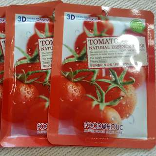 3D Foodaholic Face Mask - Tomato
