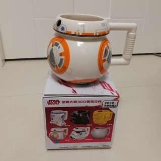 Star Wars 星球大戰 3D 立體馬克杯 BB-8款