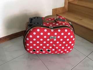 Dog trolley bag carrier