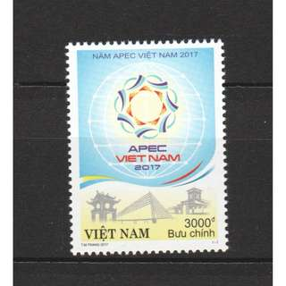 VIETNAM 2017 APEC VIETNAM 2017 COMP. SET OF 1 STAMP IN MINT MNH UNUSED CONDITION