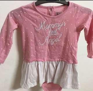 Miki baby dress 6-12m