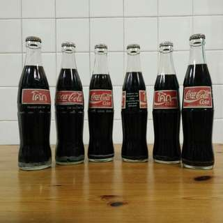 Coke Glass Bottles