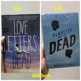 Playlist for the Dead and Love Letters to the Dead
