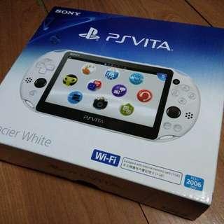 PS Vita slim Glacier White