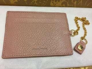 Miu Miu 粉紅色 卡片套