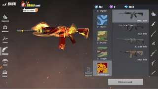 Rules of Survival Account (Contains M4A1 Wild Dragon Skin and 6555 Diamonds) *Asia Server*