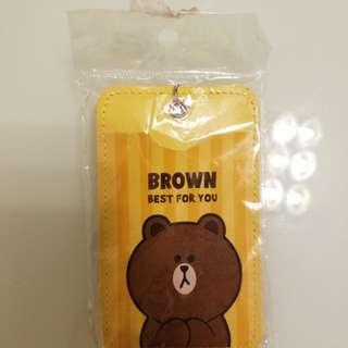 BROWN 卡套一個