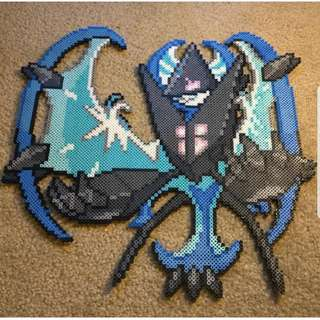 Hama beads design Anime pokemon dawn wings necrozma