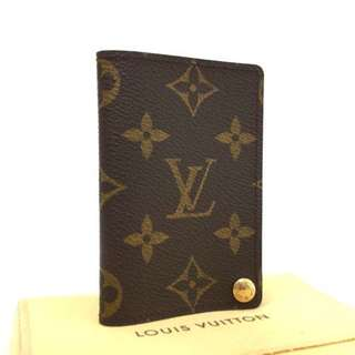Authentic Louis Vuitton Monogram Porte Billets Card