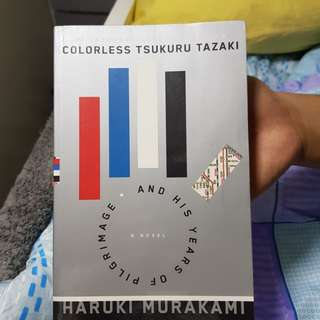 Colorless by Haruki Murakami