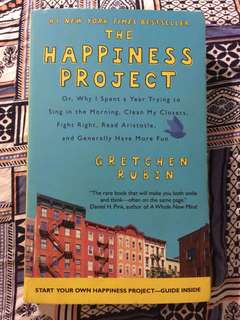 [BOOK] The happiness project