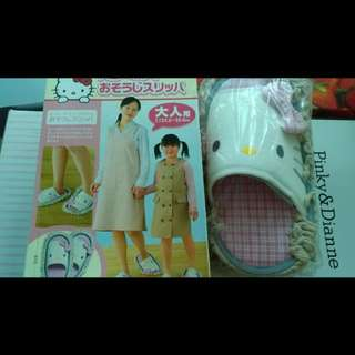 Hello Kitty 全新日版 Sanrio 打掃拖鞋 slippers
