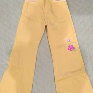 Yellow Pants for Girls