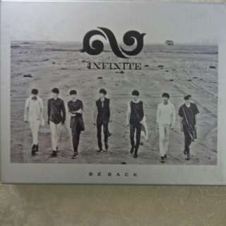 INFINITE ALBUMS - BE BACK