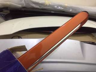Myvi side lining orange