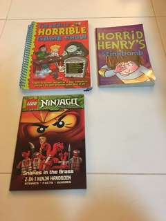 Horrid Henry's and Ninjago
