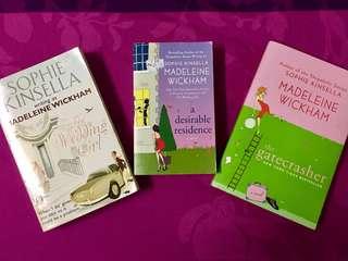 Sophie Kinsella Novels #Bajet20