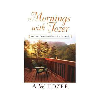 [eBook] Mornings with Tozer - A 366 Day Devotional - A W Tozer
