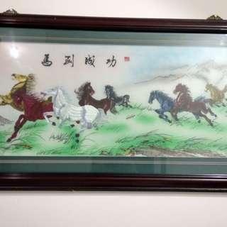 Lukisan benang 7 kuda #umntv2018