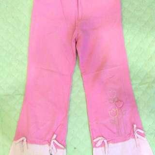 Pink Kid Pants