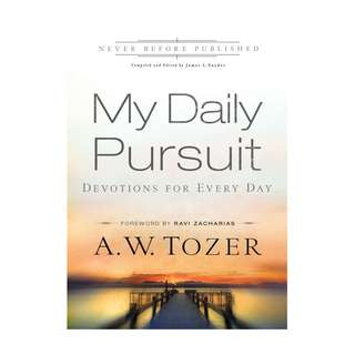 [eBook] My Daily Pursuit - Devotions for Every Day - A W Tozer