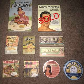 The Balm makeup bundle