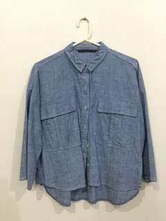Denim Zara Shirt