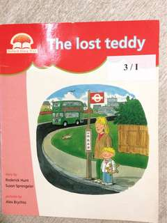 Oxford reading tree level 1 - The lost teddy