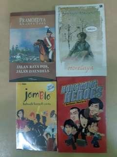 Novel indonesia 15rb