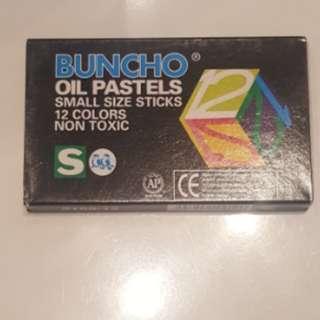 Buncho oil pastels