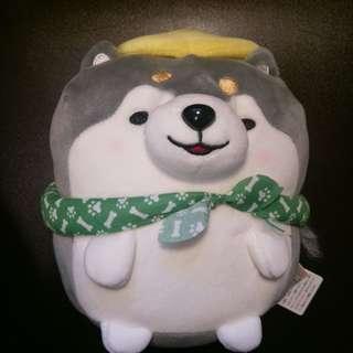 哈士奇 超軟 狗狗 小狗 娃娃 玩偶 布偶