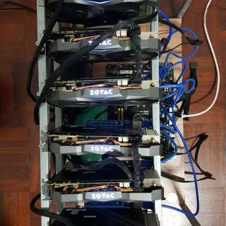 Gtx 1070 ti 6 card mining rig