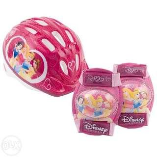 Disney Princess Toddler's Helmet and Pads