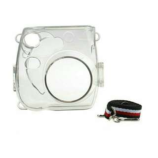 Instax Mini 7s/8/9 Clear Hard Case with Strap