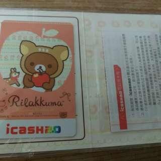 7-11拉拉熊-快樂時光2 icash 交通卡 悠遊卡