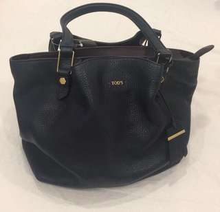 like new authentic Tods leather handbag